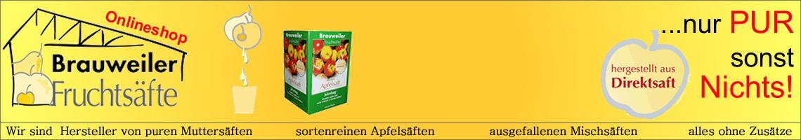 Brauweiler Fruchtsäfte Saftshop